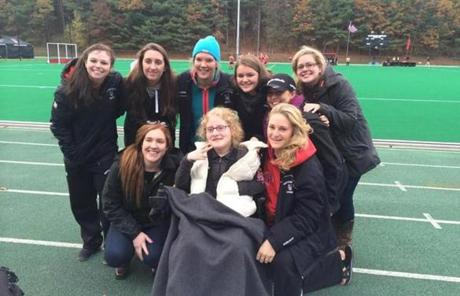 The Northeastern women's ice hockey squad is one of six on the campus with a Team IMPACT child on the roster.